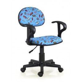 Dětská židle Alfred růžová