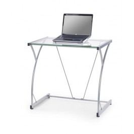 Počítačový stůl B-20 - průhledné sklo