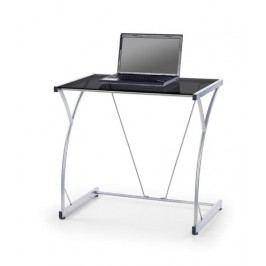 Počítačový stůl B-20 - černé sklo