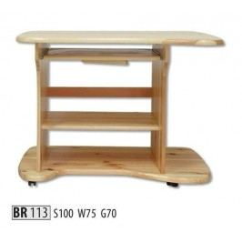 Psací stůl BR113 masiv borovice