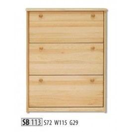 Botník SB113 masiv borovice