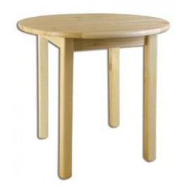Jídelní stůl ST105 průměr 100 masiv borovice