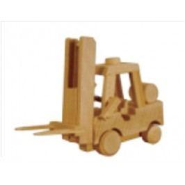 Dřevěná hračka vysokozdvižný vozík AD114