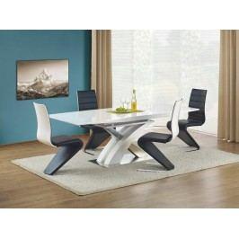 Rozkládací jídelní stůl Sandor - bílý lak
