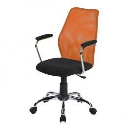Kancelářská židle  BST 2003, oranžová