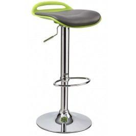 Barová židle H-60 černo-zelená