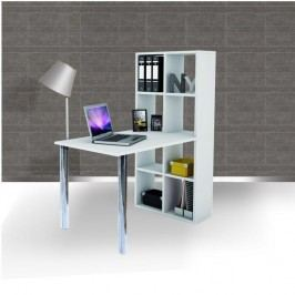 PC stůl BEXINTON, bílý