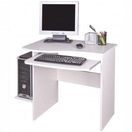 PC stůl MELICHAR, bílá