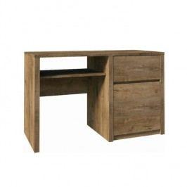 PC stolek s jednou zásuvkou a jedněmi dveřmi, dub lefkas, MONTANA B1