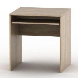 Stůl psací s výsuvem, dub sonoma, TEMPO AS NEW 023