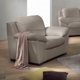 Kožená sedačka, Kůže pampas hellgrau M9010, DANILO
