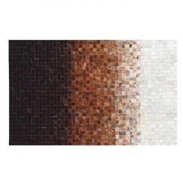 Luxusní koberec, kůže, typ patchworku, 120x180 cm, KOBEREC KOŽA typ7