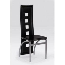 Halmar Kovová židle K4 M - hnědá - druhá jakost