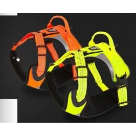 Postroj Hurtta Lifeguard DAZZLE - žlutá 45-60