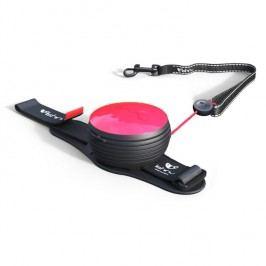 Lishinu Light Lock Neon Hands-Free vodítko pro psy - růžová