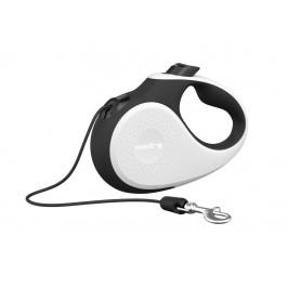 Reedog Senza Premium samonavíjecí vodítko S 12kg / 5m lanko / bílo-černé