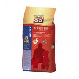 Dry MACs Dog GO DOSPĚLÝ PES - KUŘE a RÝŽE 12kg