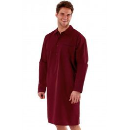 Pánská noční košile HARVEY JAMES Classic  červená
