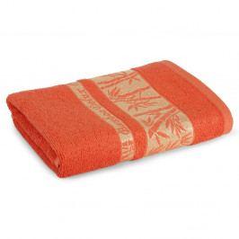 Bambusový ručník Bonia karamelový 50x90 cm Ručník