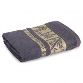Bambusový ručník Bonia šedý 50x90 cm Ručník