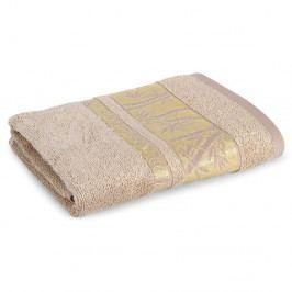 Bambusový ručník Bonia světle hnědý 50x90 cm Ručník