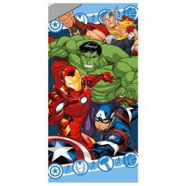 Dětská osuška Avengers barevná 70x140 cm barevná