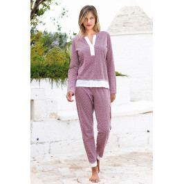 Dámské pyžamo Creta  modrá
