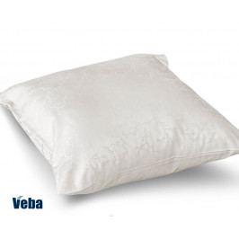Povlak na polštářek Tencel větvičky bílá 40x40 cm bavlna