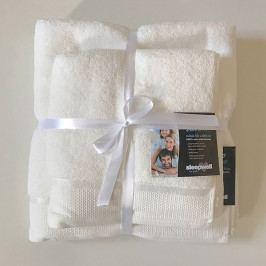 Dárková sada ručníků mikrobavlna ecru Set Dvoudílný set
