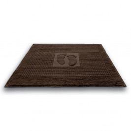 Koupelnová předložka Stopa hnědá 50x70 cm bavlna