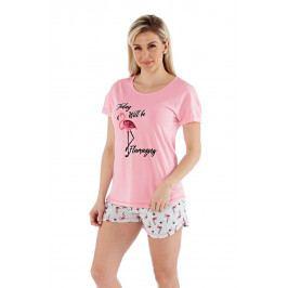 Dámské pyžamo Flamazing krátké  barevná
