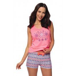 Dámské pyžamo Neon Colours  růžová