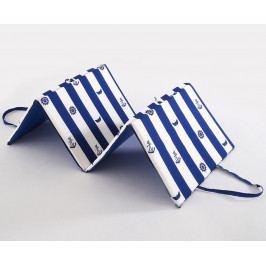 Plážové lehátko Navy 140 x 50 cm modrá