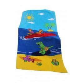 Dětská plážová osuška Holidays 70x140 cm; 320 gr/m2 modrá