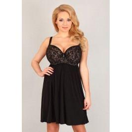 Elegantní košilka Sarah 85/C černá