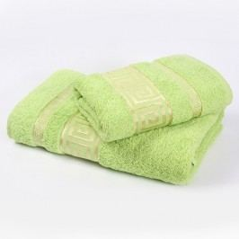 Ručník Athény - zelený 50x90 cm; 450g/m2; Ručník
