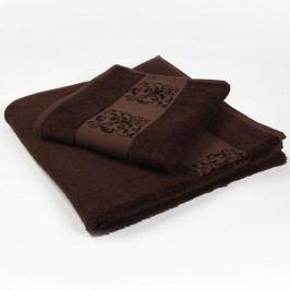 Ručník Solange hnědý 50x90 cm; 450 g/m2; Ručník