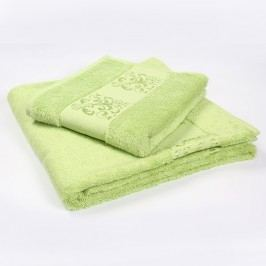 Ručník Solange zelený 50x90 cm; 450 g/m2; Ručník
