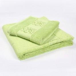 Ručník Solange zelený 70x140 cm; 450g/m2; Osuška