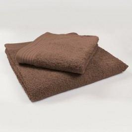 Ručník Perfect - čokoládový 70x140 cm; 600 g/m2; Osuška