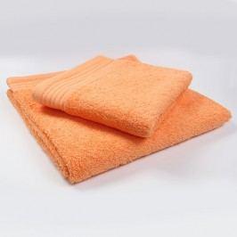 Ručník Perfect - oranžový 70x140 cm; 600 g/m2; Osuška