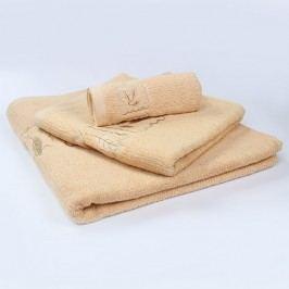 Ručník Grácie - béžový 30x50 cm; 450 g/m2; Ručník malý