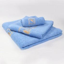 Ručník Grácie - modrý 30x50 cm; 450 g/m2; Ručník malý