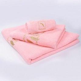 Ručník Grácie - růžový 30x50 cm; 450 g/m2; Ručník malý