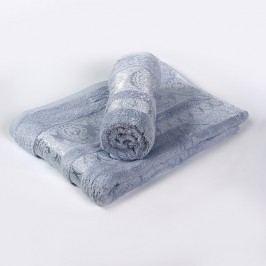 Bambusový ručník Bella světle modrý 70x140 cm; 440g/m2; Osuška