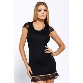 Elegantní košilka Roxy Black  černá