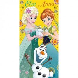 Dětská osuška Frozen 70x140 cm Bavlna