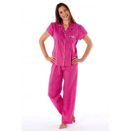 Dámské pyžamo Amanda Pink XL/XXL (22/24) malinová
