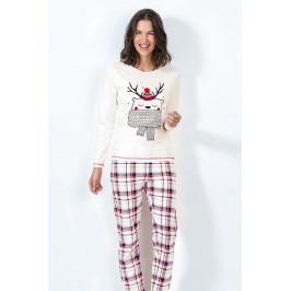 Dámské pyžamo Noel  ecru