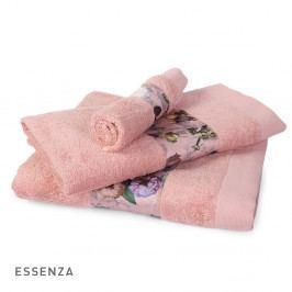 Ručník ESSENZA Fleur růžový 60x110 cm Ručník velký
